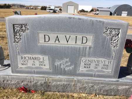 DAVID, RICHARD L. - Dawes County, Nebraska | RICHARD L. DAVID - Nebraska Gravestone Photos