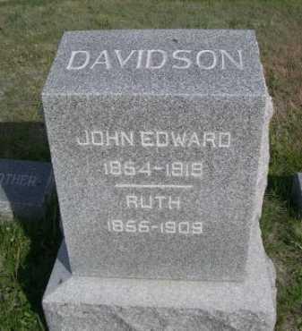 DAVIDSON, RUTH - Dawes County, Nebraska | RUTH DAVIDSON - Nebraska Gravestone Photos