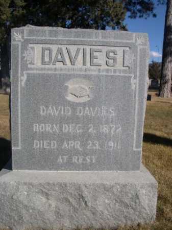 DAVIES, DAVID - Dawes County, Nebraska   DAVID DAVIES - Nebraska Gravestone Photos