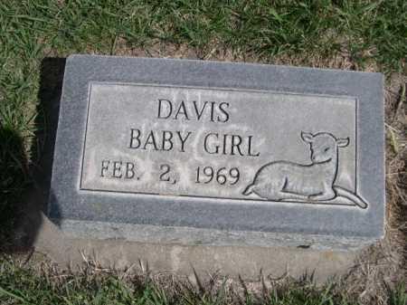 DAVIS, BABY GIRL - Dawes County, Nebraska   BABY GIRL DAVIS - Nebraska Gravestone Photos