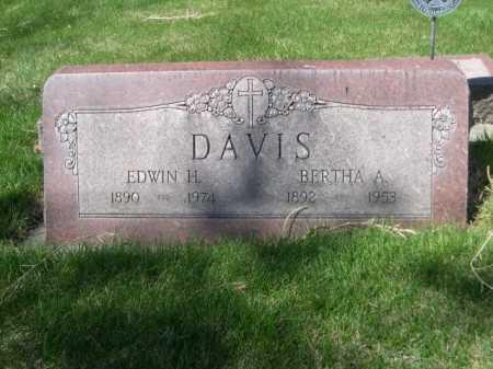 DAVIS, BERTHA A. - Dawes County, Nebraska | BERTHA A. DAVIS - Nebraska Gravestone Photos