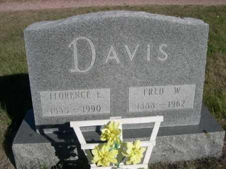 DAVIS, FRED W. - Dawes County, Nebraska   FRED W. DAVIS - Nebraska Gravestone Photos