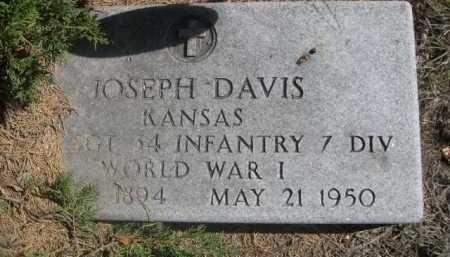 DAVIS, JOSEPH - Dawes County, Nebraska | JOSEPH DAVIS - Nebraska Gravestone Photos