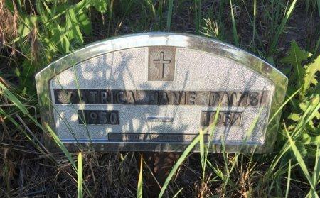 DAVIS, PATRICIA JANE - Dawes County, Nebraska | PATRICIA JANE DAVIS - Nebraska Gravestone Photos