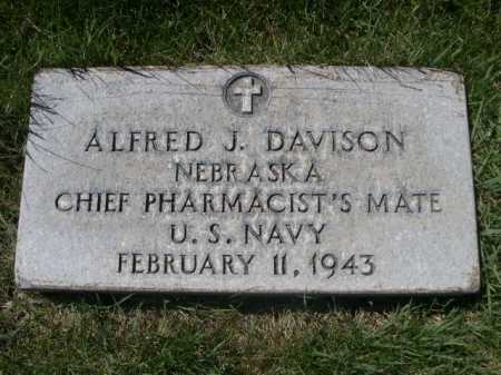DAVISON, ALFRED J. - Dawes County, Nebraska | ALFRED J. DAVISON - Nebraska Gravestone Photos