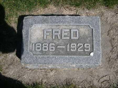 DAWSON, FRED - Dawes County, Nebraska | FRED DAWSON - Nebraska Gravestone Photos