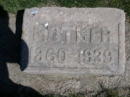 DAWSON, MOTHER - Dawes County, Nebraska | MOTHER DAWSON - Nebraska Gravestone Photos