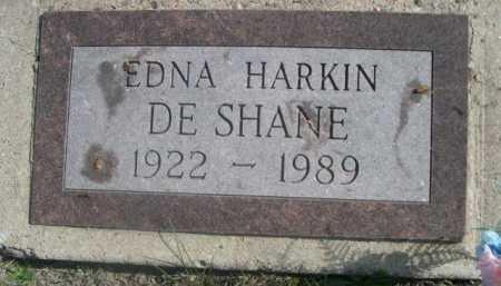 DE SHANE, EDNA - Dawes County, Nebraska | EDNA DE SHANE - Nebraska Gravestone Photos