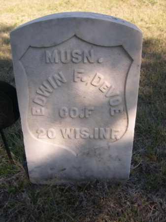 DE VOE, EDWIN F. - Dawes County, Nebraska | EDWIN F. DE VOE - Nebraska Gravestone Photos