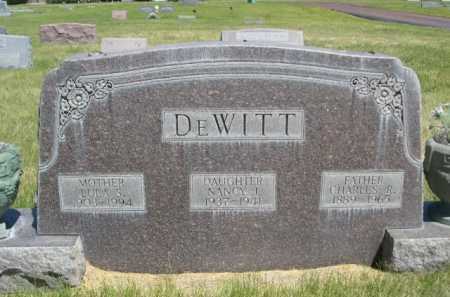 DE WITT, NANCY I. - Dawes County, Nebraska | NANCY I. DE WITT - Nebraska Gravestone Photos
