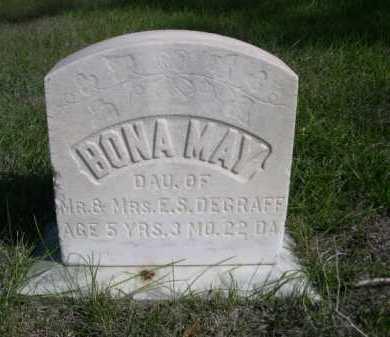 DEGRAFF, BONA MAY - Dawes County, Nebraska   BONA MAY DEGRAFF - Nebraska Gravestone Photos