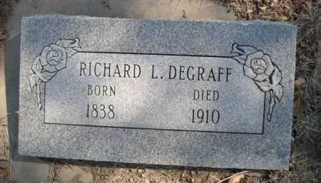 DEGRAFF, RICHARD L. - Dawes County, Nebraska | RICHARD L. DEGRAFF - Nebraska Gravestone Photos