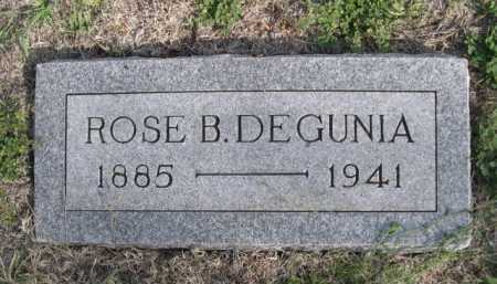 DEGUNIA, ROSE B. - Dawes County, Nebraska | ROSE B. DEGUNIA - Nebraska Gravestone Photos
