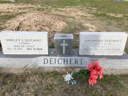 CORBIN DEICHERT, SHIRLEY L. - Dawes County, Nebraska | SHIRLEY L. CORBIN DEICHERT - Nebraska Gravestone Photos