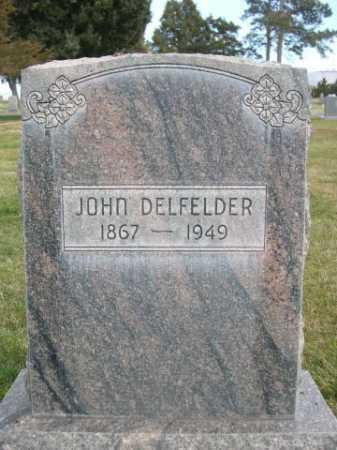DELFELDER, JOHN - Dawes County, Nebraska | JOHN DELFELDER - Nebraska Gravestone Photos