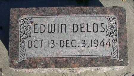 DELOS, EDWIN - Dawes County, Nebraska | EDWIN DELOS - Nebraska Gravestone Photos