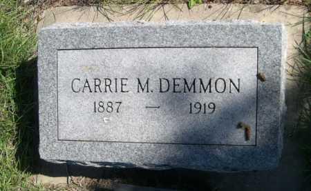 DEMMON, CARRIE M. - Dawes County, Nebraska | CARRIE M. DEMMON - Nebraska Gravestone Photos
