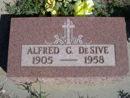 DESIVE, ALFRED G. - Dawes County, Nebraska | ALFRED G. DESIVE - Nebraska Gravestone Photos