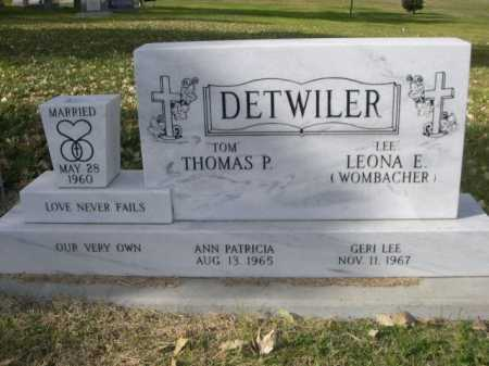 "DETWILER, LEONA E. "" LEE"" - Dawes County, Nebraska | LEONA E. "" LEE"" DETWILER - Nebraska Gravestone Photos"