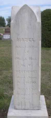 DEVENPORT, HAZEL - Dawes County, Nebraska | HAZEL DEVENPORT - Nebraska Gravestone Photos