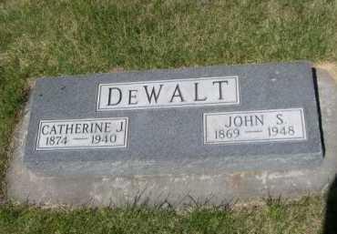 DEWALT, JOHN S. - Dawes County, Nebraska | JOHN S. DEWALT - Nebraska Gravestone Photos