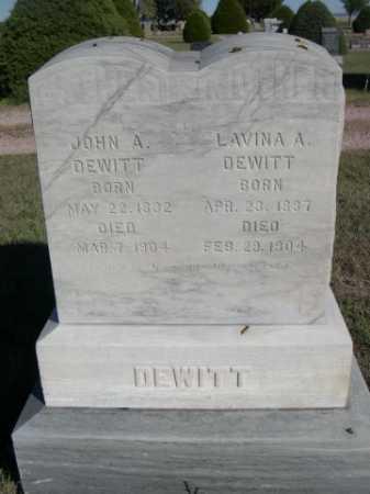 DEWITT, LAVINA A. - Dawes County, Nebraska | LAVINA A. DEWITT - Nebraska Gravestone Photos