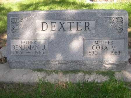 DEXTER, CORA M. - Dawes County, Nebraska | CORA M. DEXTER - Nebraska Gravestone Photos