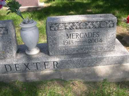 DEXTER, MERCADES - Dawes County, Nebraska | MERCADES DEXTER - Nebraska Gravestone Photos