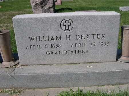 DEXTER, WILLIAM H. - Dawes County, Nebraska   WILLIAM H. DEXTER - Nebraska Gravestone Photos