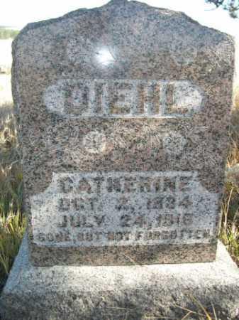 DIEHL, CATHERINE - Dawes County, Nebraska   CATHERINE DIEHL - Nebraska Gravestone Photos