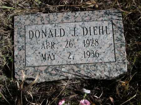 DIEHL, DONALD J. - Dawes County, Nebraska   DONALD J. DIEHL - Nebraska Gravestone Photos
