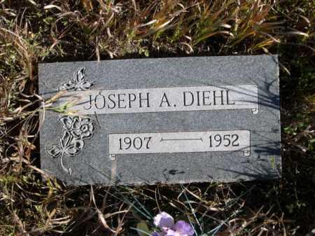 DIEHL, JOSEPH A. - Dawes County, Nebraska   JOSEPH A. DIEHL - Nebraska Gravestone Photos