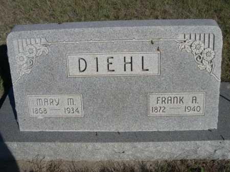 DIEHL, FRANK A. - Dawes County, Nebraska | FRANK A. DIEHL - Nebraska Gravestone Photos