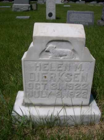 DIERKSEN, HELEN M. - Dawes County, Nebraska   HELEN M. DIERKSEN - Nebraska Gravestone Photos
