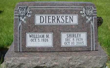 DIERKSEN, WILLIAM M. - Dawes County, Nebraska | WILLIAM M. DIERKSEN - Nebraska Gravestone Photos