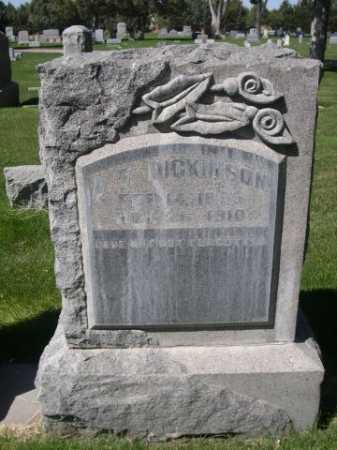 DIKINSON, A. F. - Dawes County, Nebraska | A. F. DIKINSON - Nebraska Gravestone Photos