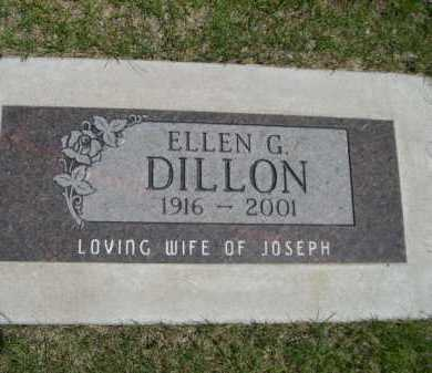 DILLON, ELLEN G. - Dawes County, Nebraska | ELLEN G. DILLON - Nebraska Gravestone Photos