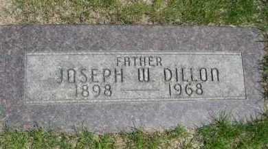 DILLON, JOSEPH W. - Dawes County, Nebraska   JOSEPH W. DILLON - Nebraska Gravestone Photos