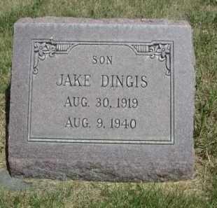 DINGIS, JAKE - Dawes County, Nebraska | JAKE DINGIS - Nebraska Gravestone Photos