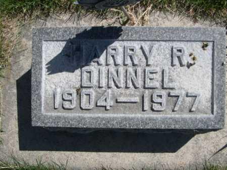 DINNEL, HARRY R. - Dawes County, Nebraska | HARRY R. DINNEL - Nebraska Gravestone Photos