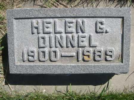 DINNEL, HELEN G. - Dawes County, Nebraska | HELEN G. DINNEL - Nebraska Gravestone Photos