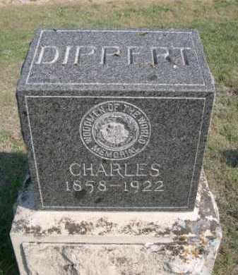 DIPPERT, CHARLES - Dawes County, Nebraska   CHARLES DIPPERT - Nebraska Gravestone Photos