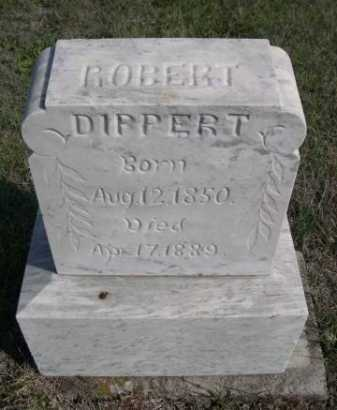 DIPPERT, ROBERT - Dawes County, Nebraska | ROBERT DIPPERT - Nebraska Gravestone Photos
