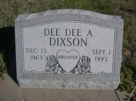 DIXSON, DEE DEE A. - Dawes County, Nebraska   DEE DEE A. DIXSON - Nebraska Gravestone Photos