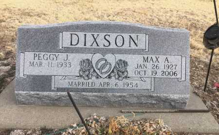 DIXSON, MAX.A. - Dawes County, Nebraska   MAX.A. DIXSON - Nebraska Gravestone Photos