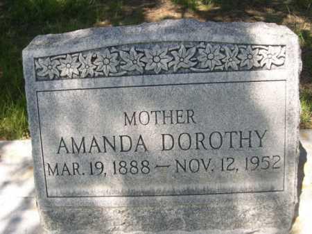 DOBBINS, AMANDA DOROTHY - Dawes County, Nebraska | AMANDA DOROTHY DOBBINS - Nebraska Gravestone Photos