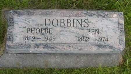 DOBBINS, BEN - Dawes County, Nebraska | BEN DOBBINS - Nebraska Gravestone Photos