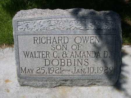DOBBINS, RICHARD OWEN - Dawes County, Nebraska | RICHARD OWEN DOBBINS - Nebraska Gravestone Photos