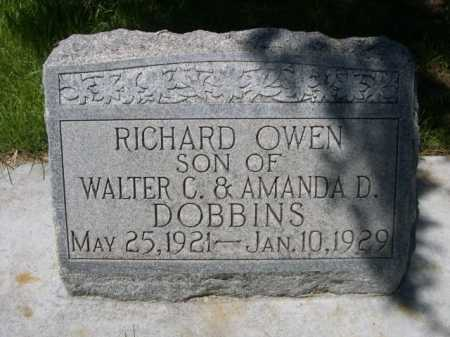 DOBBINS, RICHARD OWEN - Dawes County, Nebraska | RICHARD OWEN DOBBINS - Nebraska Gravestone Photos