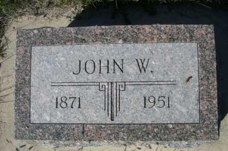 DODD, JOHN W. - Dawes County, Nebraska | JOHN W. DODD - Nebraska Gravestone Photos